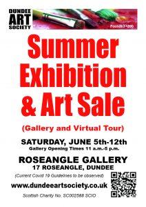 Summer Exhibition @ Roseangle Gallery | Scotland | United Kingdom